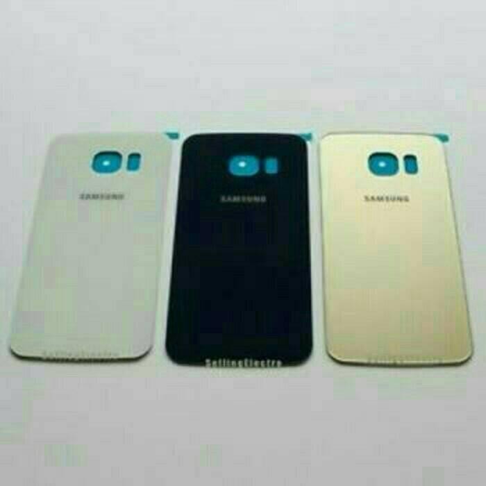 Backdoor Samsung Galaxy S6 Flat G920 Back Cover Casing Tutup Baterai