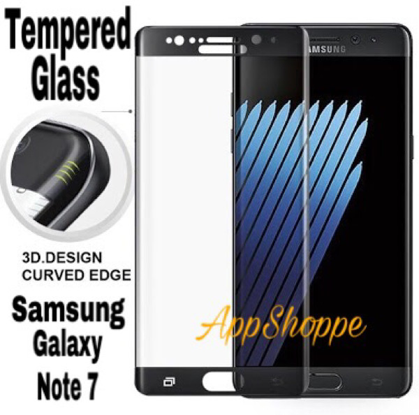 harga Tempered glass anti gores curved 9h samsung galaxy note 7 Tokopedia.com