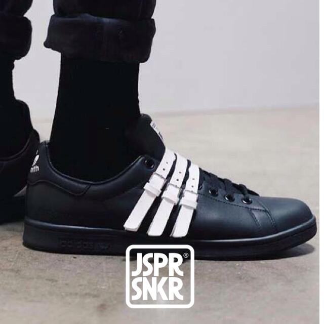 new arrival b59b1 2ef0c Jual Raf Simons x Adidas Stan Smith Straps - Black White - Kota Bandung -  Jasper Sneakerz | Tokopedia