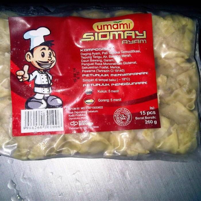harga Siomay ayam umami 15pcs + sambal Tokopedia.com