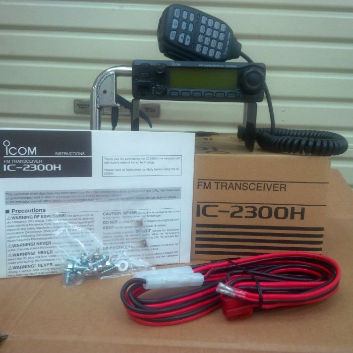 Jual Vhf Fm Transceiver Radio Komunikasi Rig Icom Ic-2300H / Icom Ic 2300 H  - DKI Jakarta - durantastore | Tokopedia