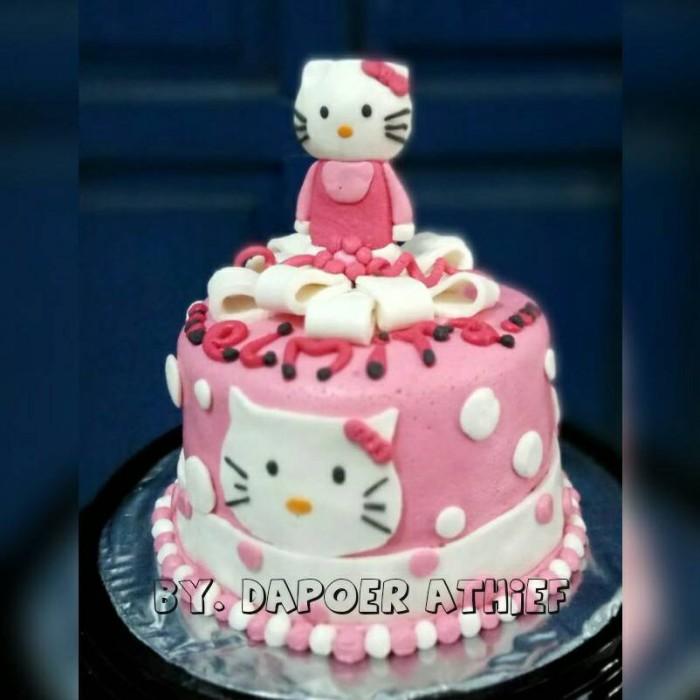 Jual Kue Ulang Tahun Karakter Hello Kitty Kota Semarang Dapoer Athief Tokopedia