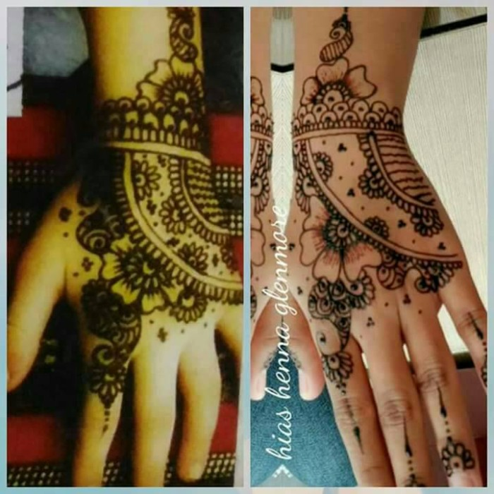 Jual Jasa Hias Henna Jasa Lukis Henna Henna Art Vo Fashion Tokopedia