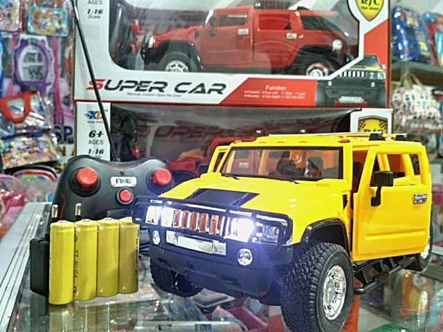 harga Mobil rc suv hummer buka pintu baterai cas mobil hammer remote control Tokopedia.com