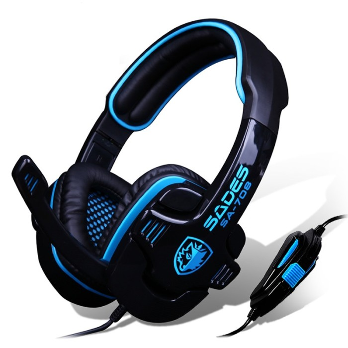 Jual Headset Gaming Sades SA-708