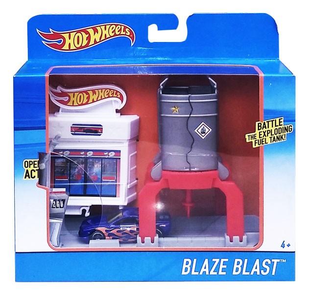 harga [mainan track set] hot wheels blaze blast - dwl01 Tokopedia.com