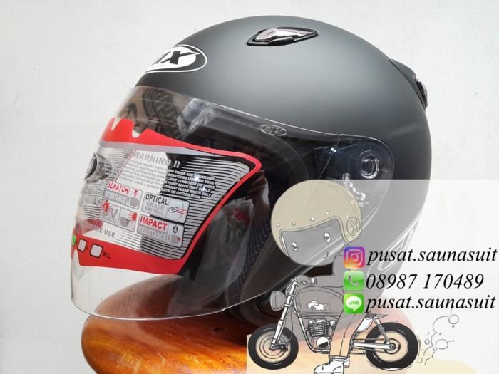 ... harga Helm gix centro black doff / azzuri / sport Tokopedia.com