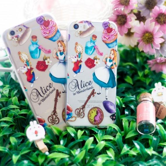 harga Soft case iphone 5/5s/6/6s dress wonderland case Tokopedia.com
