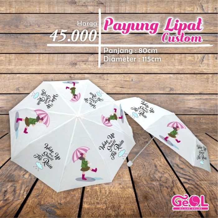 harga Payung lipat | payung custom Tokopedia.com