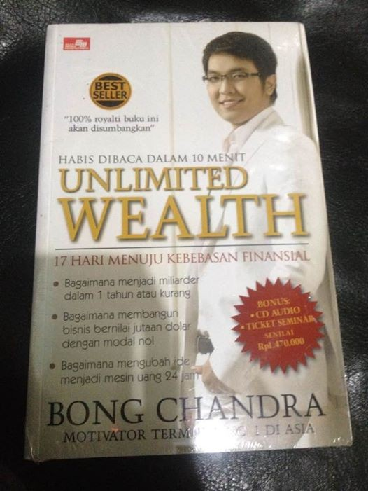 harga Unlimited wealth-bong chandra Tokopedia.com