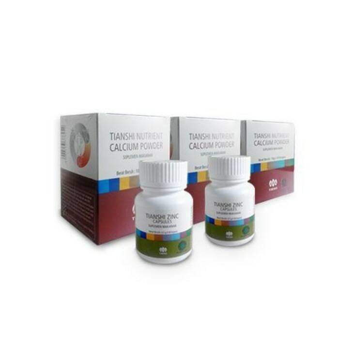 harga Paket 3 peninggi badan tiens/tianshi/obat herbal termurah/asli Tokopedia.