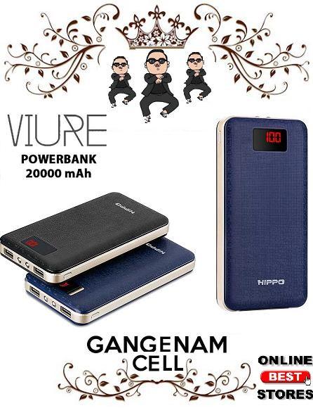 Hippo Power Bank Viure 20000 MAh Simple Pack / Powerbank