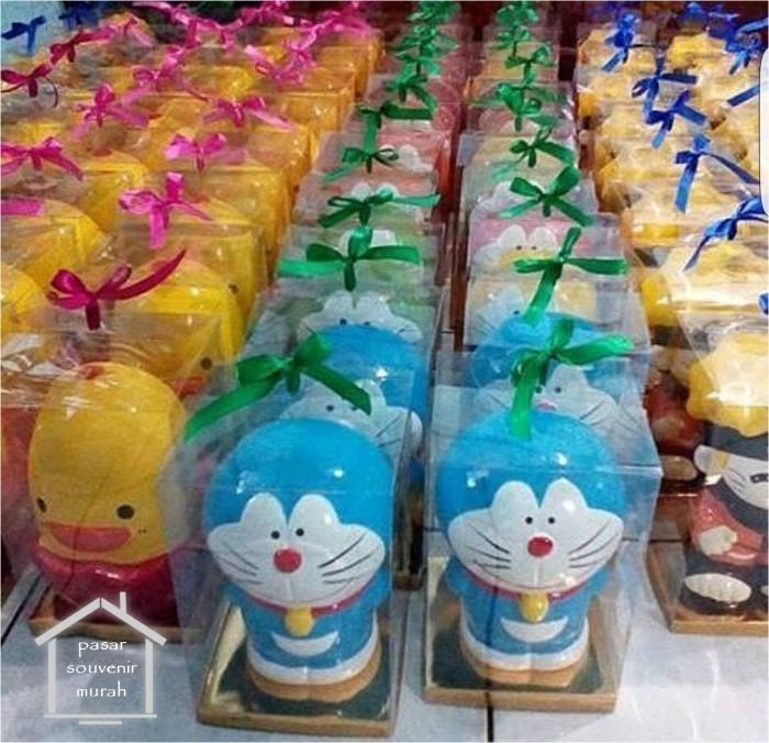 Jual Celengan Gypsum Karakter Doraemon Unik Murah Ulang