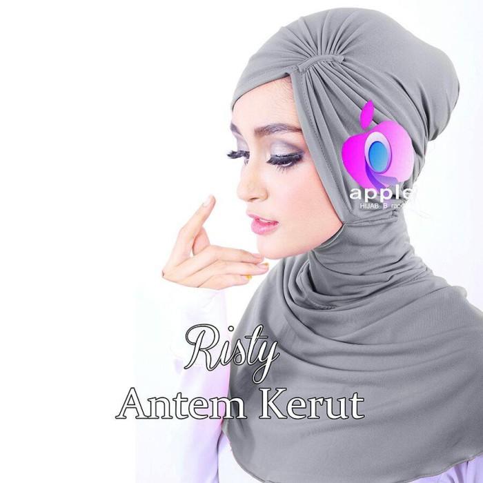 Jilbab Ciput Antem Kerut / Antem Kerut /Risty Cantik Mumer Mumer