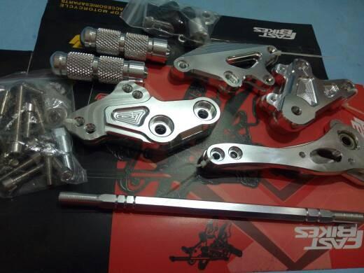 harga Underbond footstep fastbikes full cnc vixion satria fu ninja cb 150 Tokopedia.com