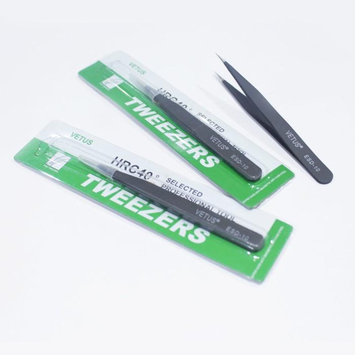 Jual Pinset Vetus Tweezers ESD-10 - Kota Surabaya - Bengkel Print |  Tokopedia