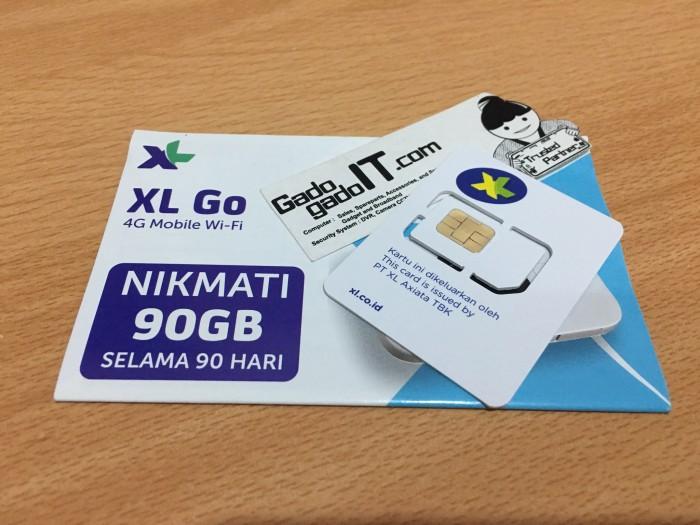 Jual Kartu Perdana Internet Xl Go 4g Gratis Kuota 90gb 3bln Tanpa