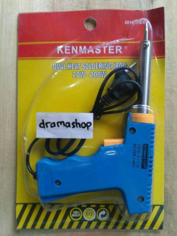 harga Dual heat soldering iron solder tembak high low watt kenmaster Tokopedia.com