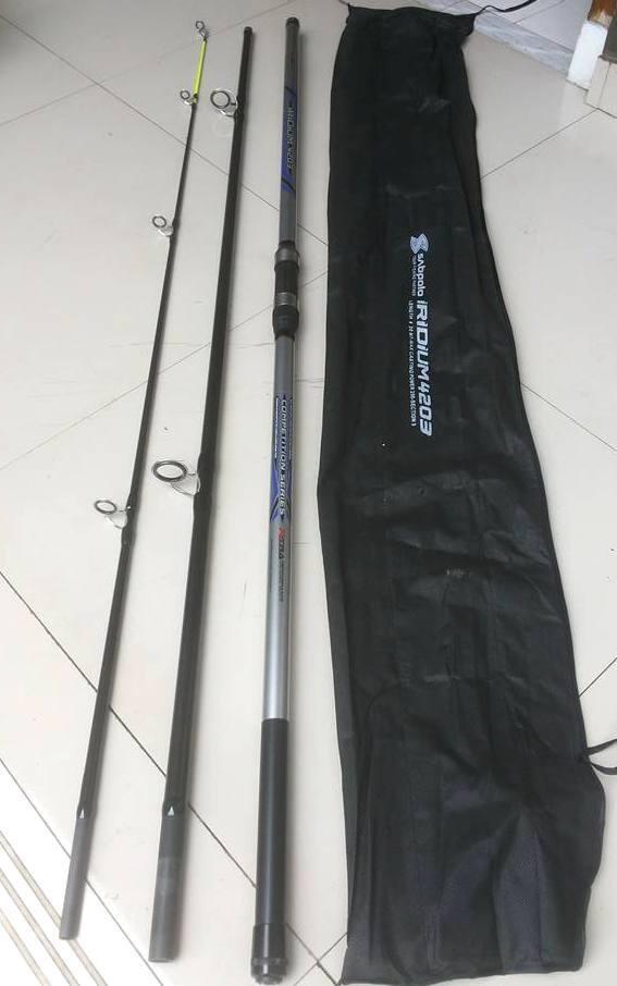 harga Joran surf sambung tiga sabpolo iridium 390 alat pancing murah Tokopedia.com
