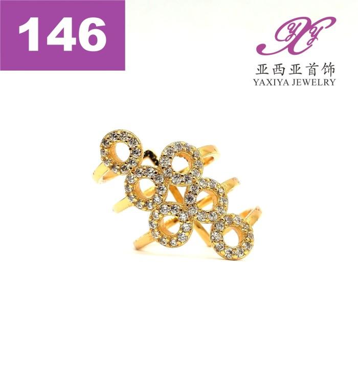 harga Cincin lapis emas zircon perhiasan imitasi gold 18k yaxiya jewelry 146 Tokopedia.com