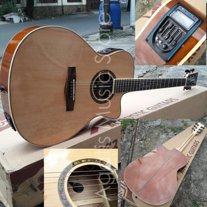 harga Gitar lakewood maple prener pm ( piezo plus mic ) Tokopedia.com