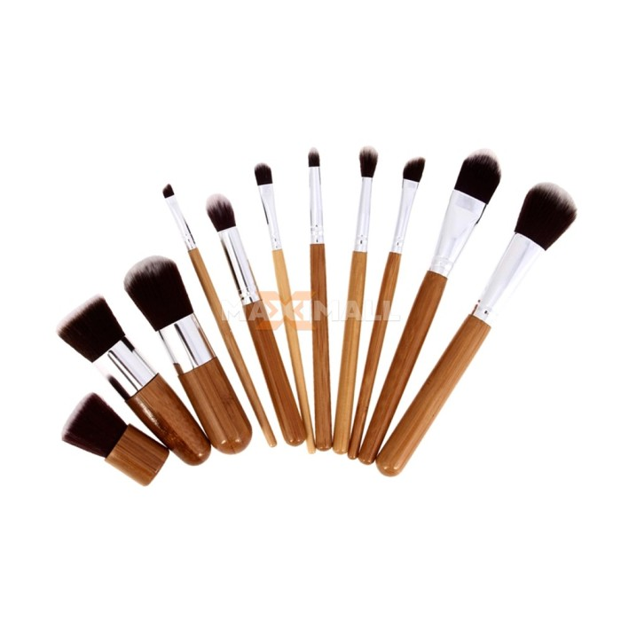 harga Kuas make up/ all in 1 professional brushes set (11 pcs + pouch)