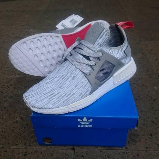baaf96eed62f5 Jual Adidas NMD XR1 PK Glitch Camo White Grey Premium Quality - Kota ...