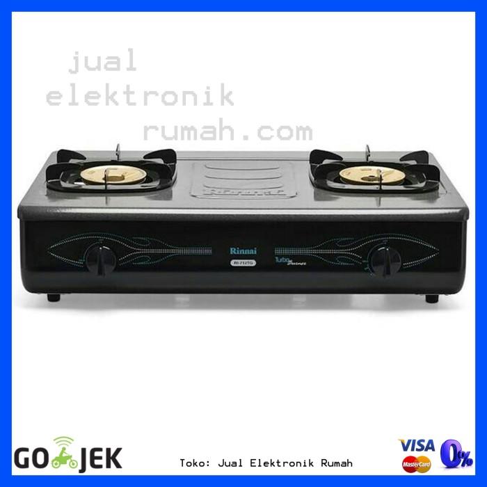 harga Kompor gas 2 tungku rinnai ri-712tg / ri712tg turbo burner terlaris Tokopedia.com