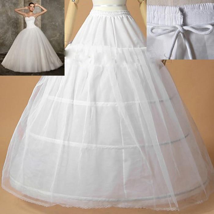 harga Petticoat kawat 3 layer2 /petticoat gaun penganti Tokopedia.com