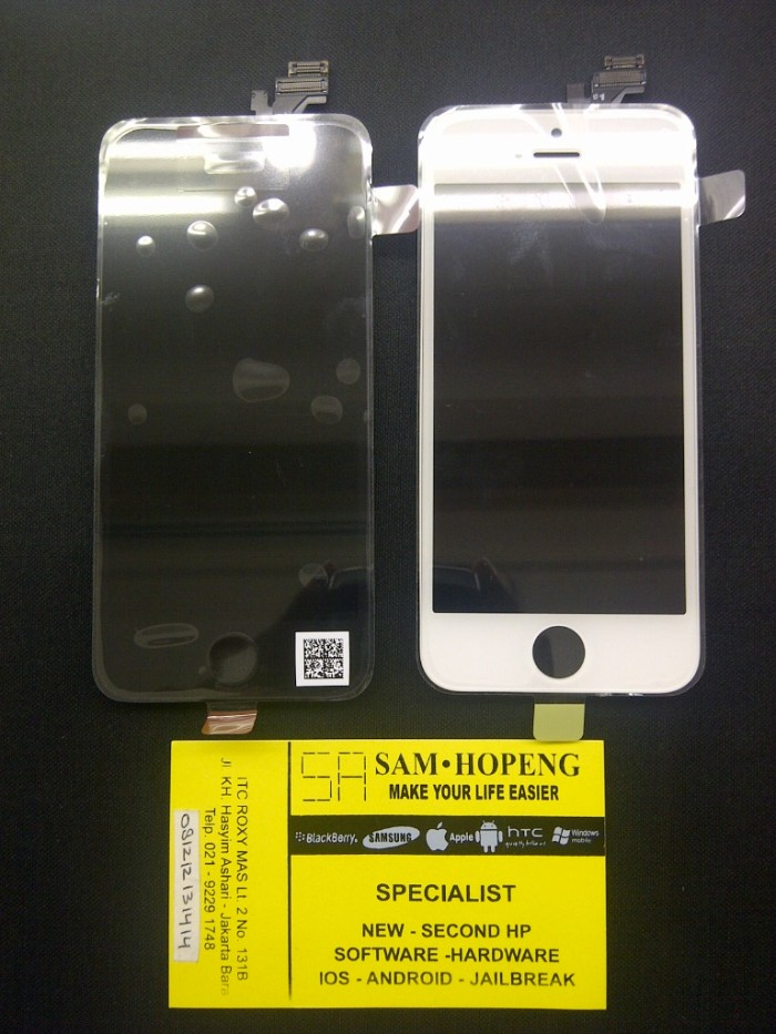 Jual iPhone 5   5S   5C LCD + Touchscreen Original 100% Berg ... af1ed269d3