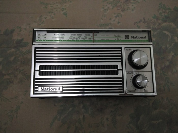 harga Radio portable national r-4250 y - mw / am sw antik kuno jadul nos Tokopedia.com