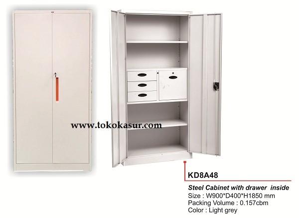 harga Filling cabinet ( lemari besi ) 2 pintu besi kd 8da48 Tokopedia.com