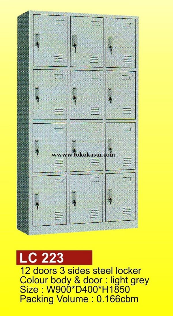 harga Filling cabinet ( lemari besi ) locker 12 pintu lc 223 Tokopedia.com