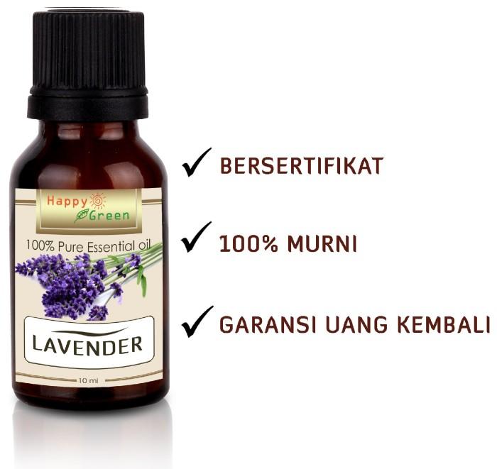Foto Produk Happy Green Lavender Essential Oil (Minyak Lavender Prancis) 30 ml dari Happy Green Garden - JKT