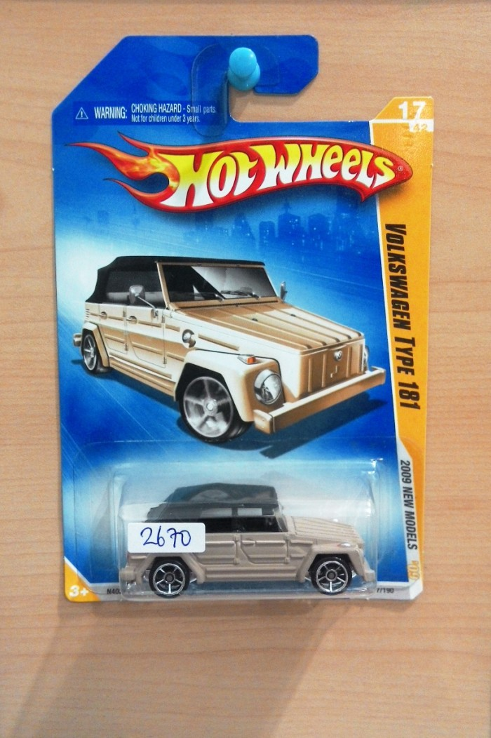 harga Hot wheels volkswagen type 181 brown / vw safari