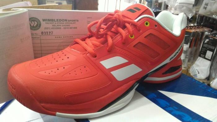 harga Sale!! Sepatu Babolat Bpm Propulse Team Red All Court Tokopedia.com