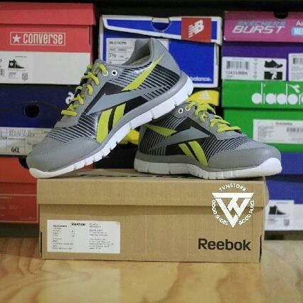 Reebok Z Fusion Inspired LP Solid Grey/ Vital Green (AR2254)