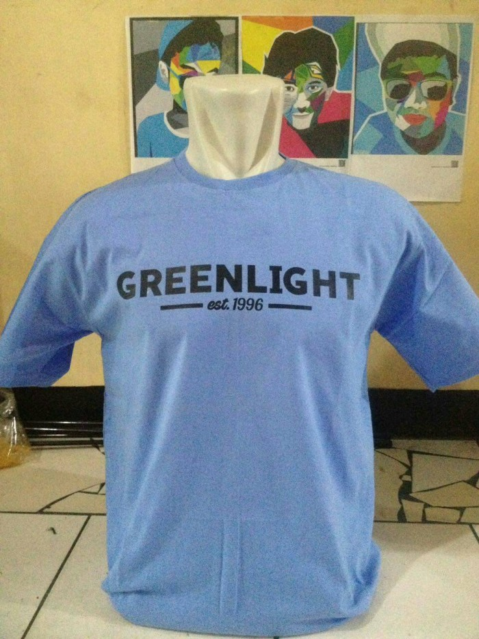 tshirt/baju/kaos greenlight