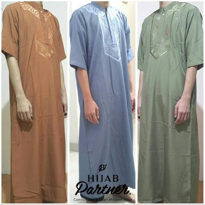 Foto Produk Jubah Ikhwan Al-Jadiid / Gamis Pria / Baju Koko Muslim Pria dari Hijabpartner ID