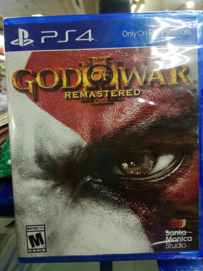 harga (ps4)god of war 3 remastered Tokopedia.com