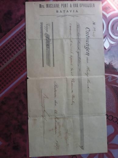 Jual Barang Antik Koleksi Jaman Dulu Koran Kwitansi Surat Jual Beli Tnh Kota Bandar Lampung Kepompong Stiker Tokopedia