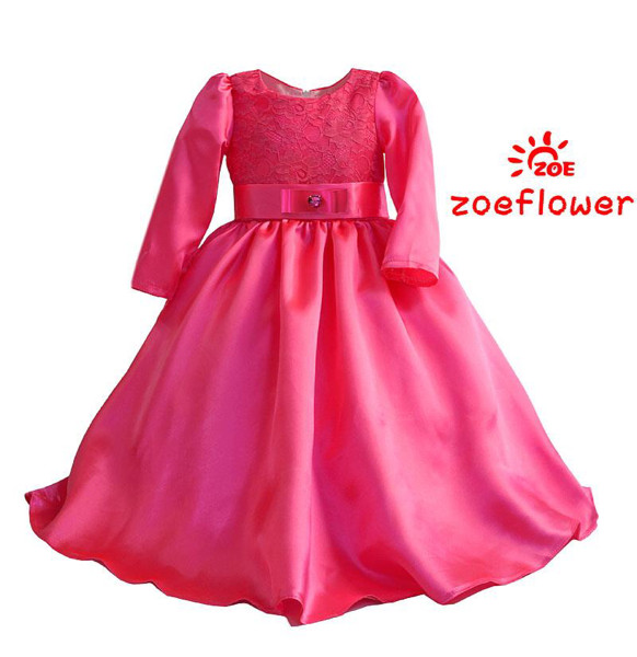 harga Dress zoe pink muslim anak perempuan import branded lucu Tokopedia.com