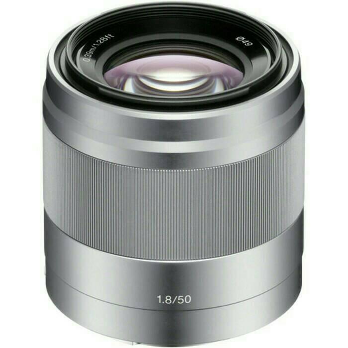harga Lensa mirroles sony emount 50mm f/1.8 oss silver Tokopedia.com