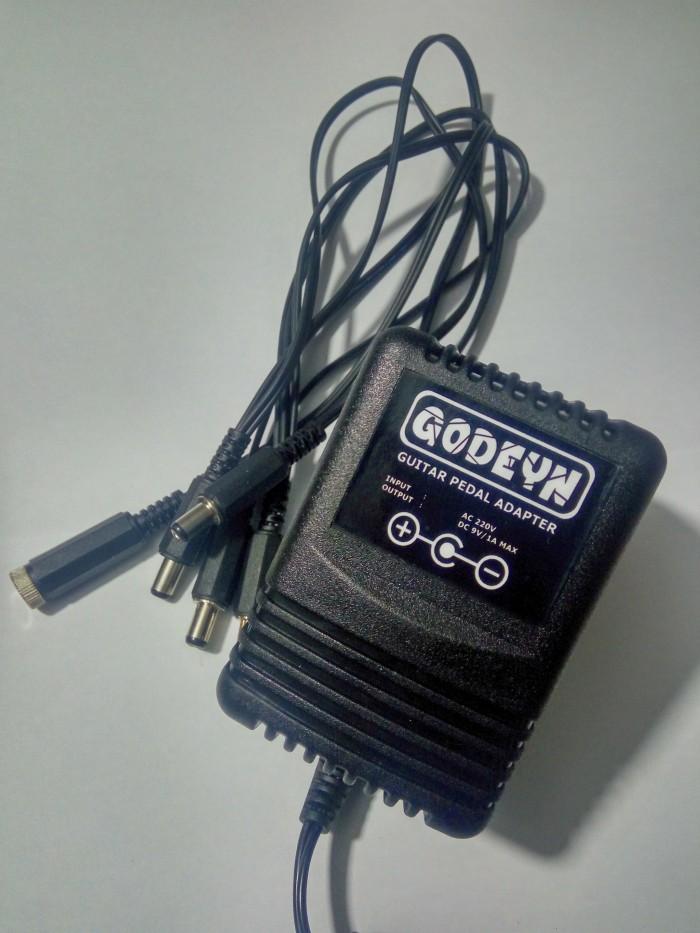 harga Adaptor+daisy chain 5 out untuk 5 efek stompbox bergaransi Tokopedia.com