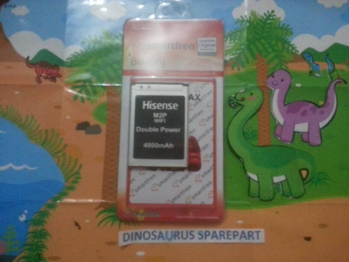 Foto Produk Baterai Smartfren Andromax M2P/Bolt Slim 2 E5577 dari Dinosaurus sparepart