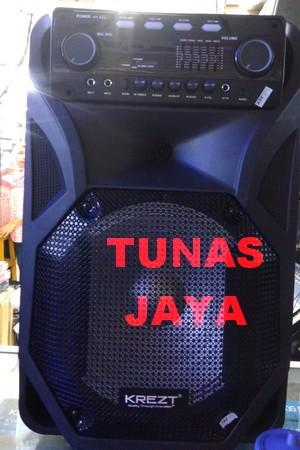 harga Speaker portable amplifier wireless krezt was 112 lv (12 inch) bluetoo Tokopedia.com