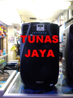 harga Speaker portable amplifier wireless krezt was 112 fv (12 inch) Tokopedia.com