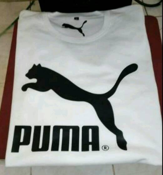 Kaos distro tshirt oblong pria baju puma t shirt cowok trendy .