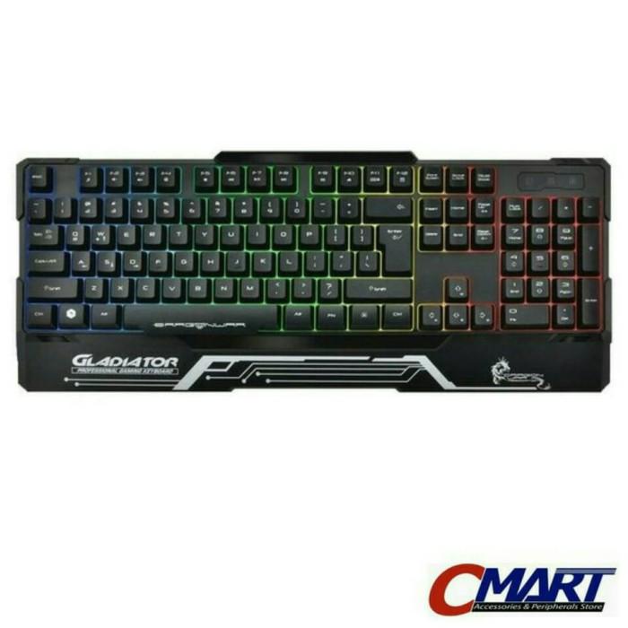 harga Dragon war gk-008 gladiator semi mechanical gaming keyboard game gamer Tokopedia.com