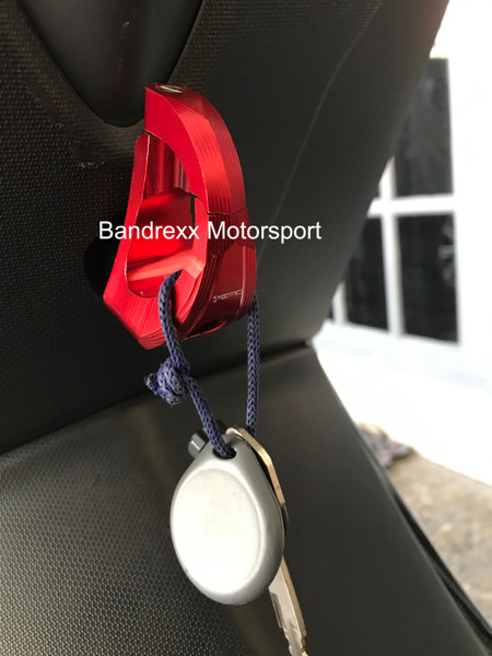 Foto Produk Gantungan Barang Black Diamond Model Kunci for Nmax- Vario 125- Beat dari Bandrexx Motorsport